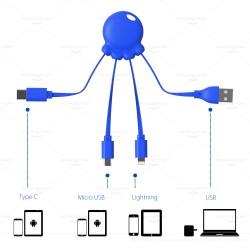 Cablu de Incarcare 3 in 1 - ShopTei.ro