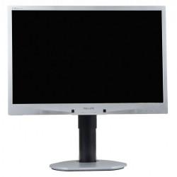 Monitor Philips 220BW, 22 Inch LCD, 1680 x 1050, VGA, DVI, USB, Fara picior