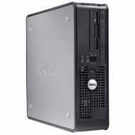 Calculator Dell OptiPlex 755 Desktop, Intel Core2 Duo E8400 3.00GHz, 2GB DDR2, 160GB SATA, DVD-ROM