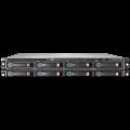 Server Hp ProLiant DL160 G6, 2x Intel Xeon E5620 Quad Core, 2.4Ghz, 16GB DDR3 ECC, 2 x 1TB SATA, OnBoard B110i SATA RAID, 1 x PSU