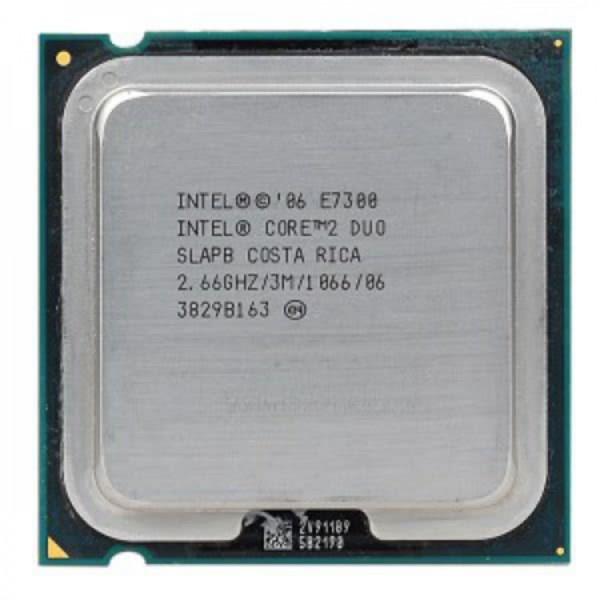 Procesor Intel Core2 Duo E7300, 2.66Ghz, 3Mb Cache, 1066 MHz FSB - ShopTei.ro