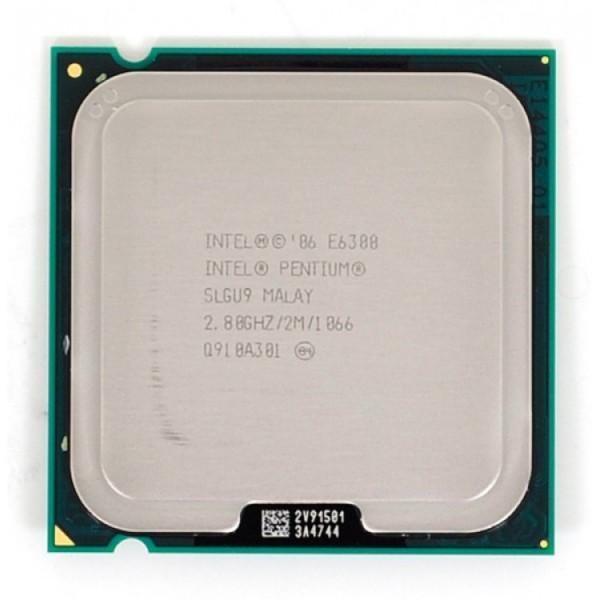 Procesor Intel Pentium Dual Core E6300, 2.8Ghz, 2Mb Cache, 1066 MHz FSB - ShopTei.ro