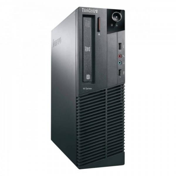 Calculator Lenovo M81 SFF, Intel Core i3-2100 3.10GHz, 4GB DDR3, 250GB SATA, DVD-ROM - ShopTei.ro