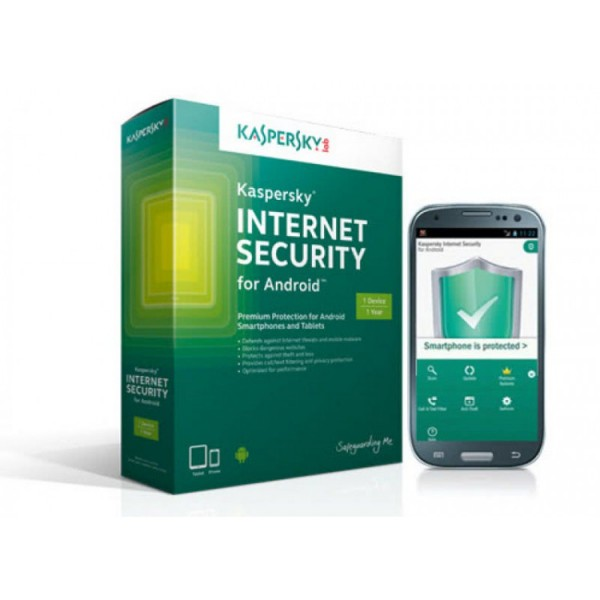 Antivirus Kaspersky Internet Security for Android - Home User - ShopTei.ro