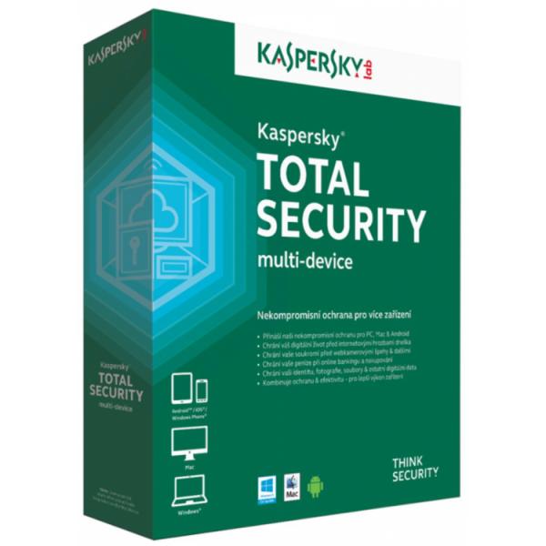 Antivirus Kaspersky Total Security Multi Device - Home User - ShopTei.ro