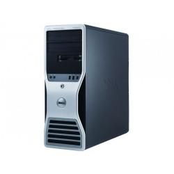 Workstation Dell T5500, Intel Xeon Quad Core E5630 2.53GHz-2.80GHz, 8GB DDR3, 500GB SATA, AMD Radeon HD 7350 1GB GDDR3 - ShopTei.ro