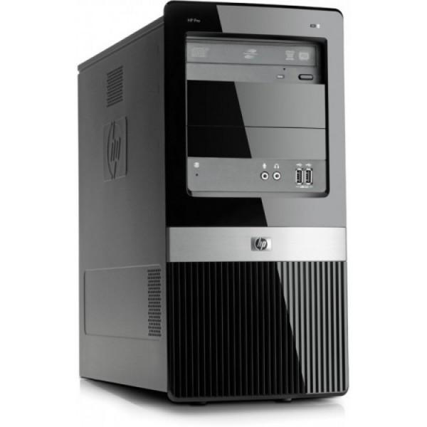 Calculator HP 3120 Pro MiniTower, Intel Core 2 Duo E7500 2.93GHz, 4GB DDR2, 500GB SATA, DVD-RW - ShopTei.ro