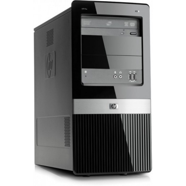 Calculator HP 3120 Pro MiniTower, Intel Pentium E5500 2.80GHz, 2GB DDR2, 250GB SATA, DVD-RW - ShopTei.ro