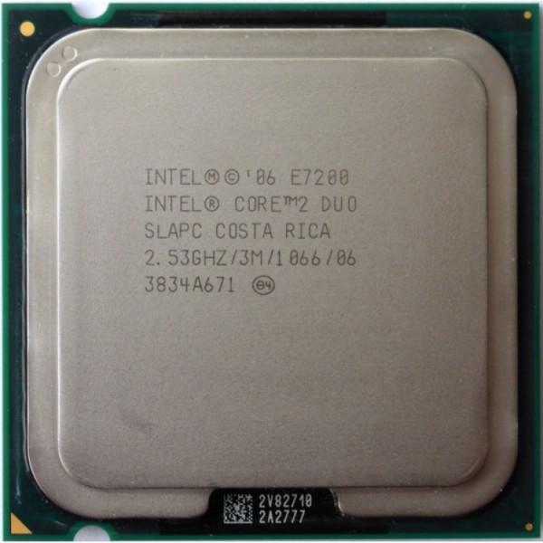 Procesor Intel Core 2 Duo E7200, 3M Cache, 2.53 GHz, 1066 MHz FSB - ShopTei.ro
