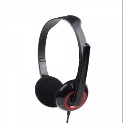 Casti Gembird MHS-002, Cu microfon, Negru - ShopTei.ro