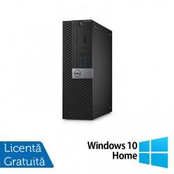 Calculator DELL Optiplex 5040 SFF, Intel Core i7-6700T 2.80GHz, 8GB DDR3, 120GB SSD, DVD-RW + Windows 10 Home - ShopTei.ro
