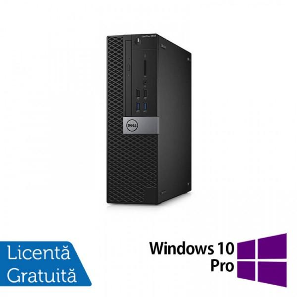 Calculator DELL Optiplex 5040 SFF, Intel Core i7-6700T 2.80GHz, 8GB DDR3, 120GB SSD, DVD-RW + Windows 10 Pro - ShopTei.ro