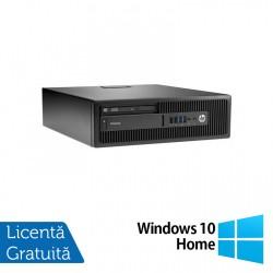 Calculator HP Elitedesk 705 G2 SFF, AMD A10-8700P 1.80GHz, 4GB DDR3, 120GB SSD, DVD-RW + Windows 10 Home - ShopTei.ro