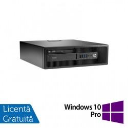 Calculator HP Elitedesk 705 G2 SFF, AMD A10-8700P 1.80GHz, 4GB DDR3, 120GB SSD, DVD-RW + Windows 10 Pro - ShopTei.ro