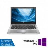 Laptop HP EliteBook 8460p, Intel Core i7-2620M 2.70GHz, 4GB DDR3, 120GB SSD, DVD-RW, 14 Inch, Webcam + Windows 10 Pro