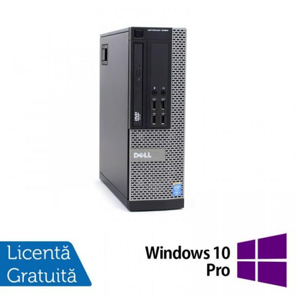 Calculator DELL OptiPlex 9020 SFF, Intel Core i3-4130 3.40GHz, 8GB DDR3, 500GB SATA, DVD-RW + Windows 10 Pro - ShopTei.ro