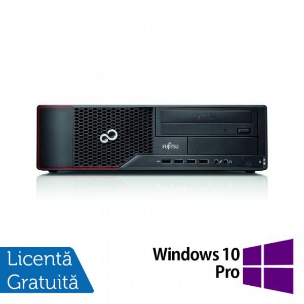 Calculator Fujitsu Siemens E710 SFF, Intel Core i5-3470 3.20GHz, 4GB DDR3, 500GB SATA, DVD-RW + Windows 10 Pro - ShopTei.ro