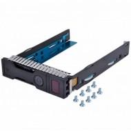 Caddy / Sertar NOU pentru HDD server HP Gen8/Gen9, 3.5 inch, LFF, SAS/SATA
