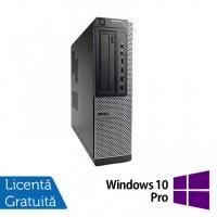 Calculator DELL OptiPlex 7010 Desktop, Intel Core i3-3220 3.30GHz, 4GB DDR3, 500GB SATA, DVD-RW + Windows 10 Pro