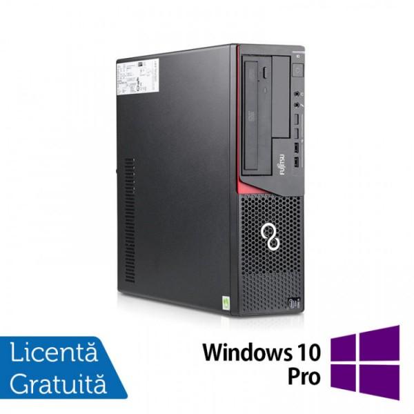 Calculator FUJITSU SIEMENS E720 Desktop, Intel Core i3-4170 3.70GHz, 4GB DDR3, 500GB SATA, DVD-ROM + Windows 10 Pro - ShopTei.ro