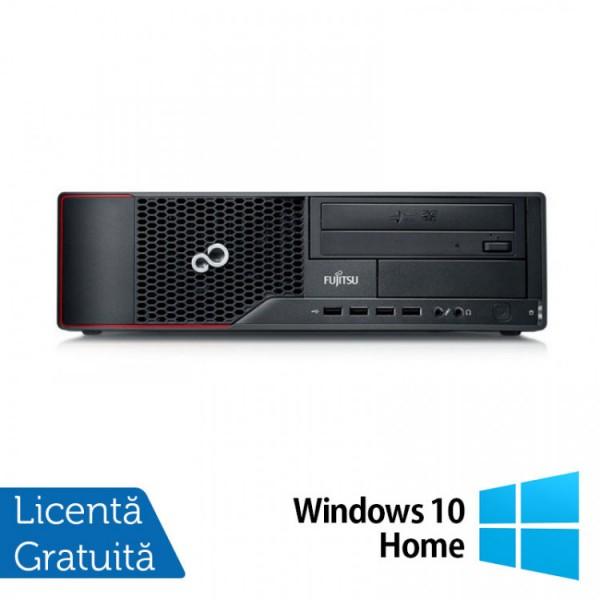 Calculator FUJITSU SIEMENS Esprimo E710 Desktop, Intel Core i3-3220 3.30GHz, 4GB DDR3, 250GB SATA, DVD-RW + Windows 10 Home - ShopTei.ro