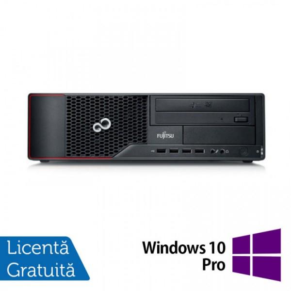 Calculator FUJITSU SIEMENS Esprimo E710 Desktop, Intel Core i3-3220 3.30GHz, 4GB DDR3, 250GB SATA, DVD-RW + Windows 10 Pro - ShopTei.ro
