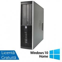 Calculator HP Compaq 6200 Pro SFF, Intel Celeron G530 2.40GHz, 4GB DDR3, 250GB SATA, DVD-RW + Windows 10 Home - ShopTei.ro