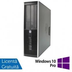 Calculator HP Compaq 6200 Pro SFF, Intel Celeron G530 2.40GHz, 4GB DDR3, 250GB SATA, DVD-RW + Windows 10 Pro - ShopTei.ro