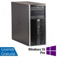Calculator HP 6200 Tower, Intel Core i5-2400 3.10GHz, 4GB DDR3, 250GB SATA, DVD-ROM + Windows 10 Pro (Top Sale!)