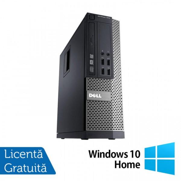 Calculator DELL OptiPlex 7010 SFF, Intel Core i5-3570 3.40GHz, 4GB DDR3, 500GB SATA, DVD-RW + Windows 10 Home - ShopTei.ro
