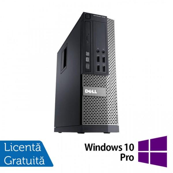 Calculator DELL OptiPlex 7010 SFF, Intel Core i5-3470 3.20GHz, 4GB DDR3, 250GB SATA, DVD-RW + Windows 10 Pro - ShopTei.ro
