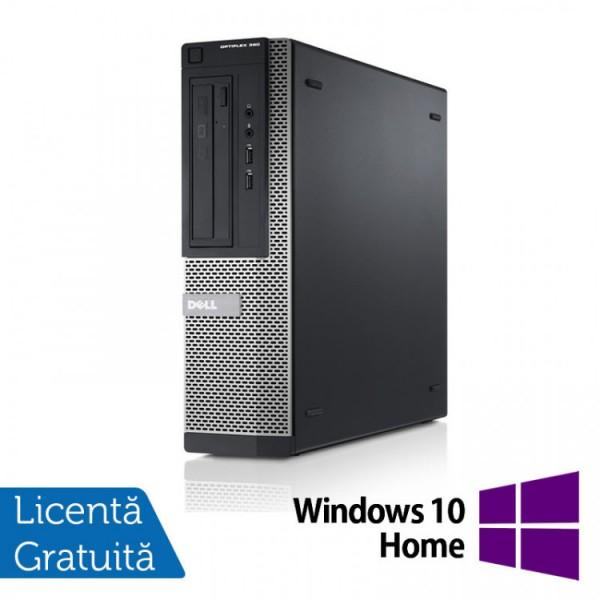 Calculator DELL OptiPlex 3010 Desktop, Intel Core i3-3220 3.30GHz, 4GB DDR3, 250GB SATA, DVD-RW + Windows 10 Pro - ShopTei.ro