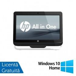 All In One HP Pro 3520, 20 Inch, Intel Core i3-3220 3.30GHz, 4GB DDR3, 120GB SSD, DVD-RW + Windows 10 Home