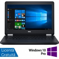 Laptop DELL Latitude E5270, Intel Core i5-6300U 2.40GHz, 8GB DDR4, 240GB SSD, 12.5 Inch, Webcam + Windows 10 Pro