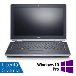 Laptop DELL Latitude E6330, Intel i5-3340M 2.70GHz, 4GB DDR3, 500GB SATA, DVD-RW, 13.3 Inch, Webcam + Windows 10 Pro