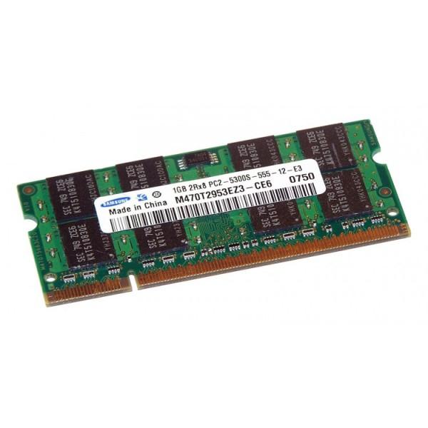 Memorie laptop SO-DIMM DDR2-667 1GB PC2-5300S 200PIN - ShopTei.ro