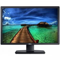 Monitor DELL U2412M, LED, Panel IPS, 24 Inch, 1920 x 1200 WUXGA, VGA, DVI, 5 Porturi USB, Widescreen, Grad A- - ShopTei.ro