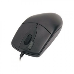 Mouse Optic cu fir A4TECH, 1000dpi, 4/1 Butoane/Rotite, OP-620D-U1, USB, Negru - ShopTei.ro