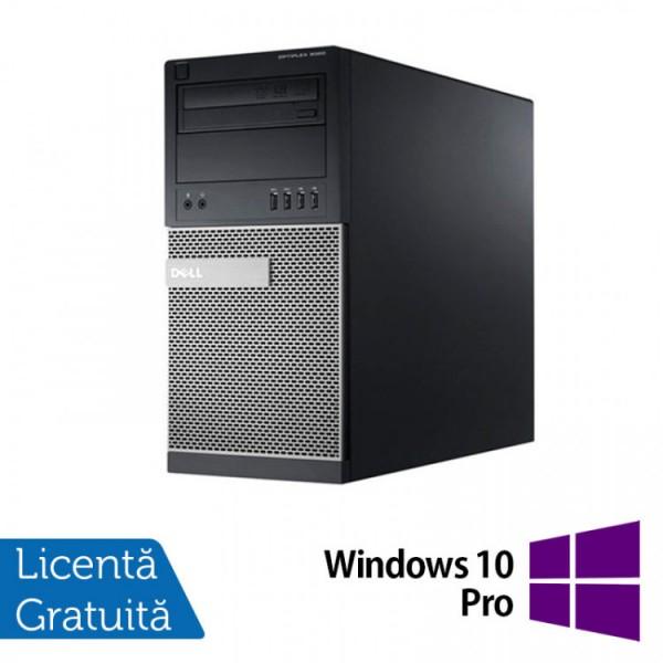 Calculator Dell OptiPlex 790 Tower, Intel Core i5-2400 3.10GHz, 4GB DDR3, 250GB SATA, DVD-RW + Windows 10 Pro - ShopTei.ro