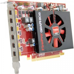 Placa Video AMD FirePro W600, 2GB GDDR5, 128-bit, 6x Mini Display Port