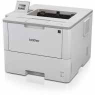 Imprimanta Laser Monocrom Brother HL-L6400DW, Duplex, A4, 50ppm, 1200 x 1200 dpi, Wireless, Retea, USB, Unitate Drum si Toner Noi