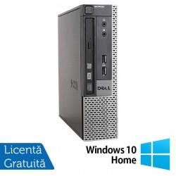 Calculator Dell 9010 USFF, Intel Core i5-3470S 2.90GHz, 4GB DDR3, 500GB SATA, DVD-RW + Windows 10 Home - ShopTei.ro
