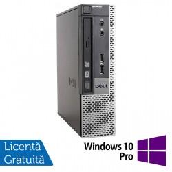 Calculator Dell 9010 USFF, Intel Core i5-3470S 2.90GHz, 4GB DDR3, 500GB SATA, DVD-RW + Windows 10 Pro - ShopTei.ro