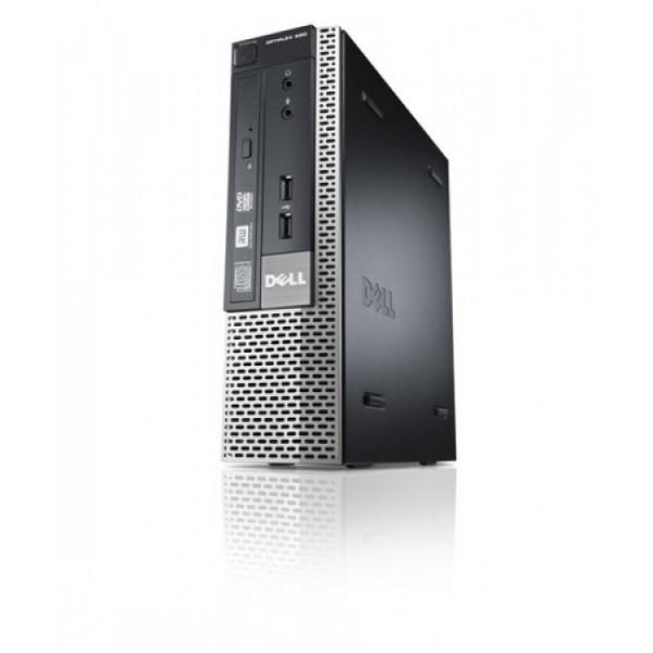 Calculator Dell 990 USFF, Intel Core i7-2600S 2.80GHz, 4GB DDR3, 500GB SATA, DVD-RW - ShopTei.ro