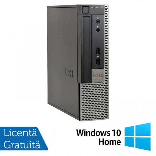 Calculator Dell 990 USFF, Intel Core i5-2400s 2.50GHz, 4GB DDR3, 250GB SATA, DVD-RW + Windows 10 Home - ShopTei.ro