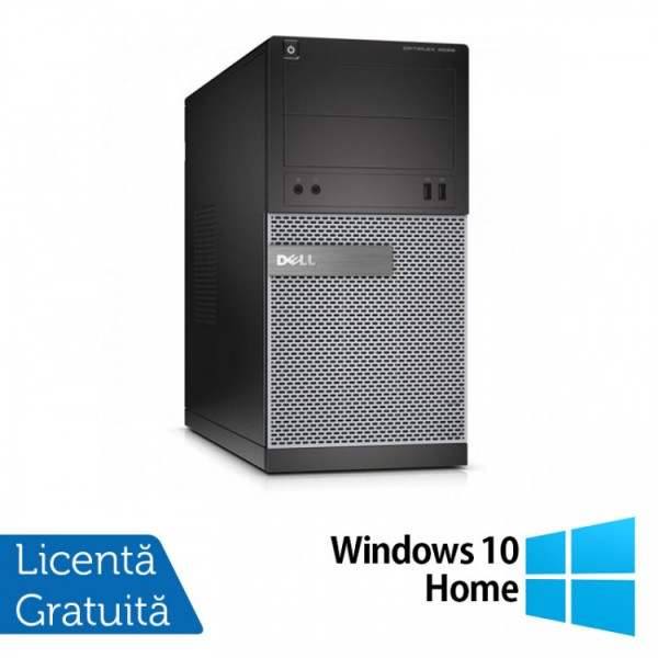 Calculator DELL Optiplex 3020 Tower, Intel Core i7-4790 3.60GHz, 8GB DDR3, 500GB SATA, DVD-RW + Windows 10 Home - ShopTei.ro