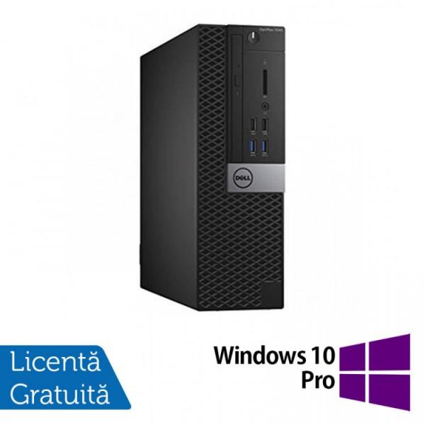 Calculator DELL OptiPlex 7040 SFF, Intel Core i7-6700T 2.80GHz, 8GB DDR4, 120GB SSD + Windows 10 Pro - ShopTei.ro