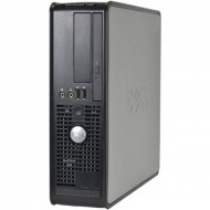 Calculator DELL Optiplex 745 SFF, Intel Core 2 Duo E6300 1.86GHz, 1GB DDR2, 80GB SATA, DVD-ROM