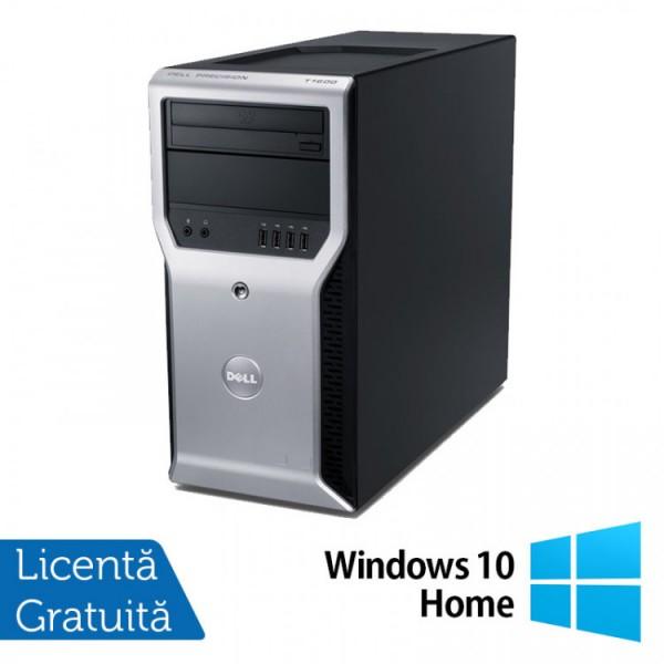 Calculator Dell Precision T1600, Intel Core i3-2100 3.10GHz, 4GB DDR3, 320GB SATA, DVD-ROM + Windows 10 Home - ShopTei.ro