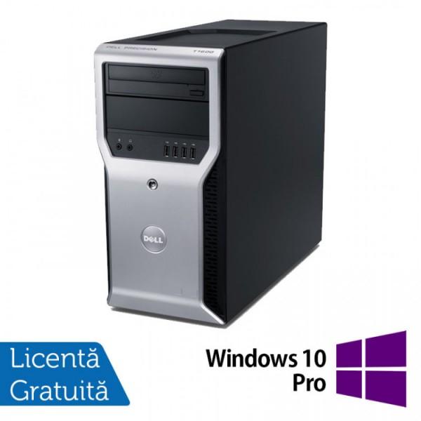 Calculator Dell Precision T1600, Intel Core i3-2100 3.10GHz, 4GB DDR3, 320GB SATA, DVD-ROM + Windows 10 Pro - ShopTei.ro